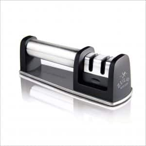 Zulay Kitchen 2-Stage Stainless Steel Knife Sharpener