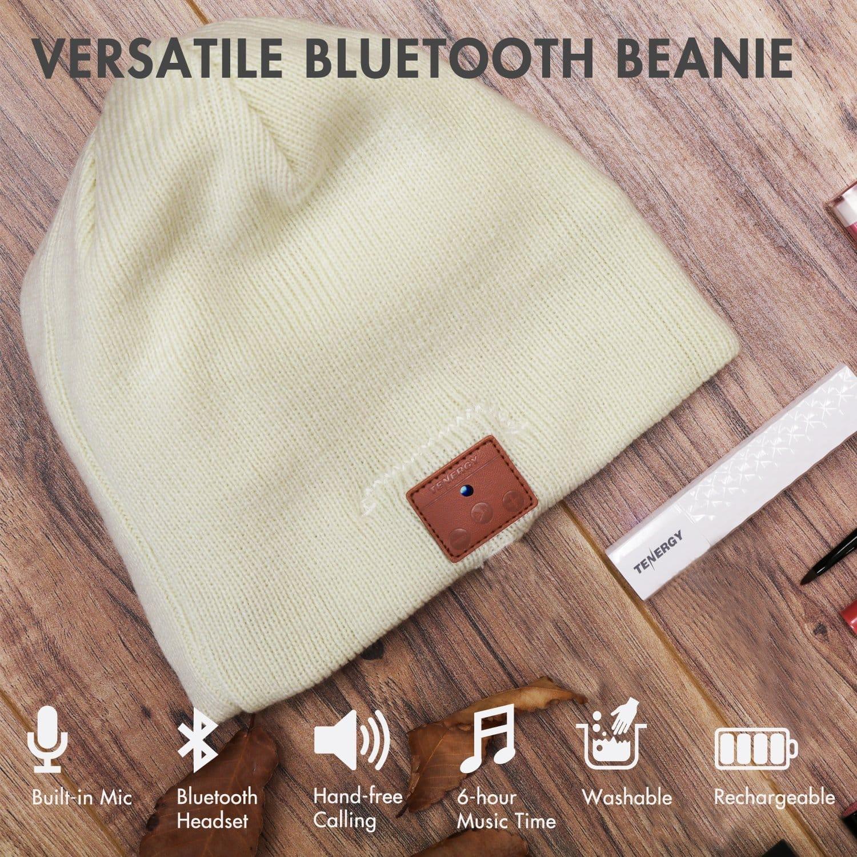 9035eda2f46d6 Top 10 Best Bluetooth Beanies in 2019 - Hat Speakerphone