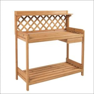 Best Choice Products Outdoor Potting Bench