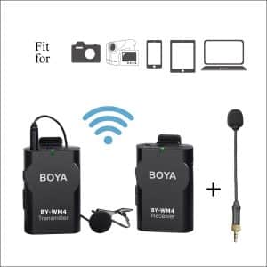 Boya BY-WM4 Dual Microphone Wireless System for DSLR Cameras