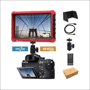 Lilliput A7S IPS Screen Camera Field Monitor 4K