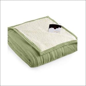 Biddeford MicroPlush Sherpa Electric Blanket