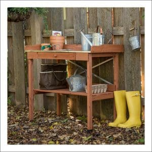 Top 10 Best Potting Benches Reviews In 2019 Gardening Bench