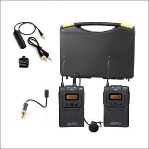 Movo WMIC70 Lavalier & Goose-Neck DSLR Camera Microphone System