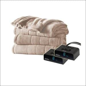 Queen Size Electric Blanket By Sunbeam