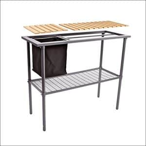 Jewett Cameron Potting Bench with Trimmings Bin