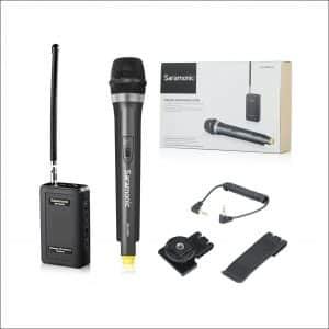 Saramonic WM4CA Handheld VHF Wireless Microphone for DSLR Cameras