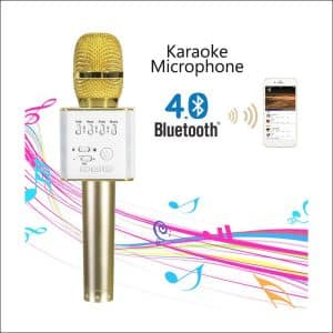 Mifanstech Q9 Bluetooth Karaoke Microphone with Speaker