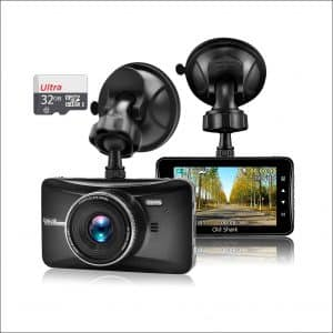 "Oldshark 3"" 1080P Dash Cam with 32GB Card"