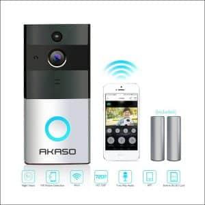 AKASO Ring Video Doorbell Pro720p HD