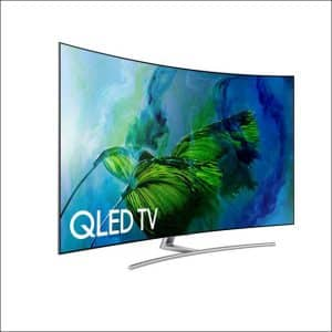 Samsung Electronics QN75Q8C Curved 75-Inch Ultra HD TV