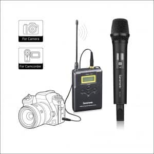 Saramonic Uwmic15A Handheld Wireless Microphone for Videography