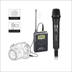 Saramonic Uwmic15A Handheld Wireless Microphone for Videography
