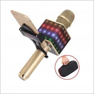 KaraoKing H8 Karaoke Microphone with LED Lights