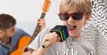 Wireless Karaoke Microphone with Speakers