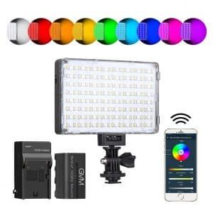 GVM RGB Video Light with APP Control