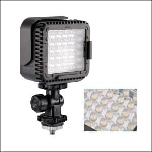 Neewer Dimmable LED on-camera lights