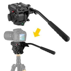 Kamisafe kingjoy VT-3510 fluid tripod head