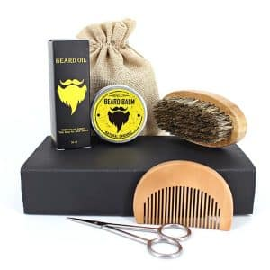 Mousand Beard Brush and Care Set