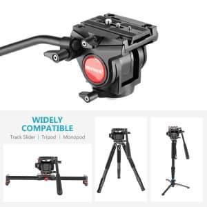 Neewer Heavy Duty Fluid Video Camera Tripod Stand