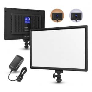 RALENO LED Video Soft Light Panel with LCD Display
