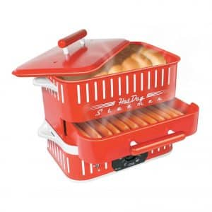 Cuizen CST-1412B Retro Hot Dog Steamer