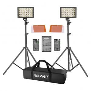 Neewer LED Video Light Kit with 190cm Light Stand