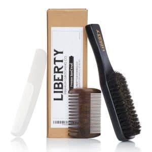 Liberty Grooming Co Beard and Mustache Grooming Kit