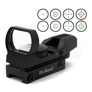 RioRand Green and Red Generic Holographic Dot Sight