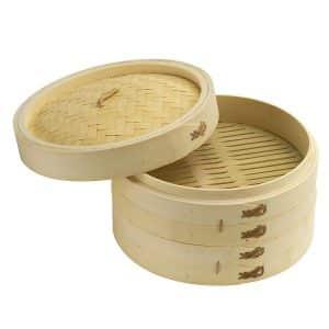 Joyce Chen 26-0013 10-Inch Bamboo Steamer