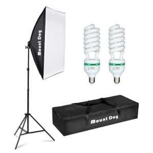 MOUNTDOG Lighting Kit Softbox