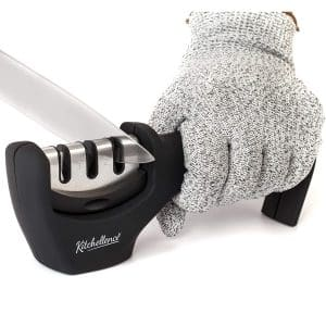 KITCHELLENCE Chef's Knife Sharpener