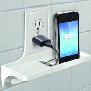 IdeaWorks Set of 2 Wall Outlet Organizer