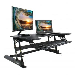 VIVO Height-Adjustable Standing Desk