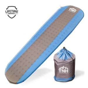 8. TNH Outdoors Premium Self Inflating Sleeping Pad