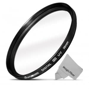 Altura Photo 58mm UV Ultra-Violent Filter for Camera Lenses