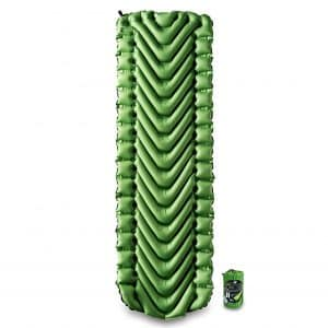 9. Static V Lightweight Klymit Sleeping Pad for Backpacking