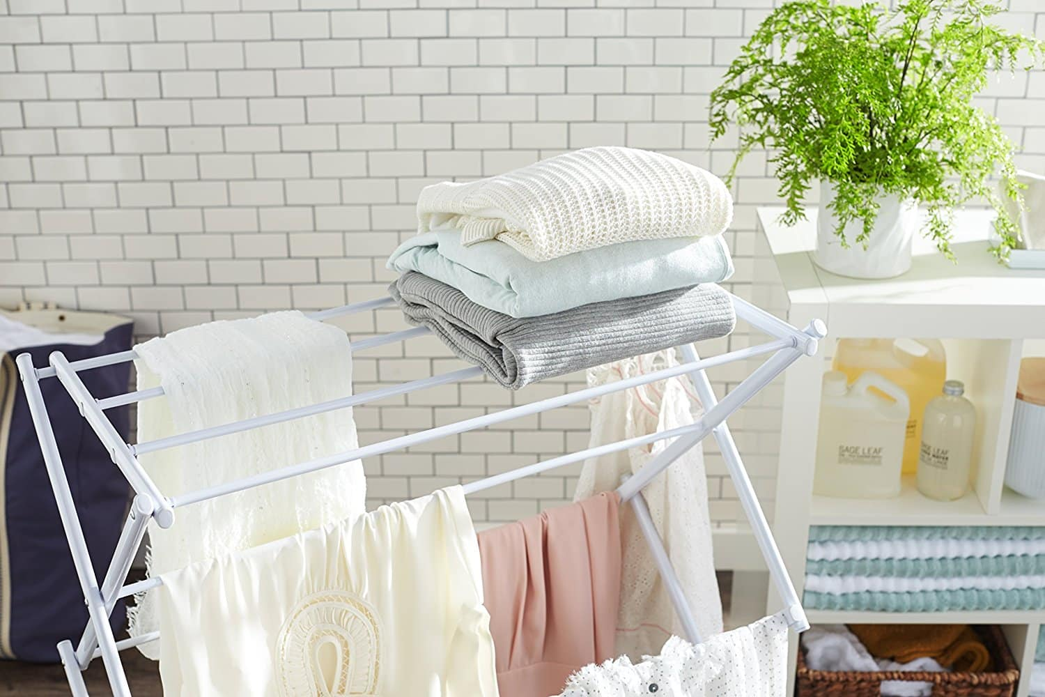 Top 10 Best Clothes Drying Racks in 2019 - Best Reviews Guide