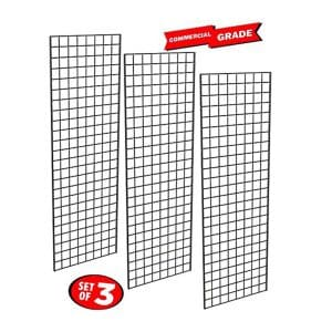 Heavy Duty Grid wall Panel, Commercial Grade Grid Panels