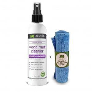 Austra 100% natural and organic yoga mat spray