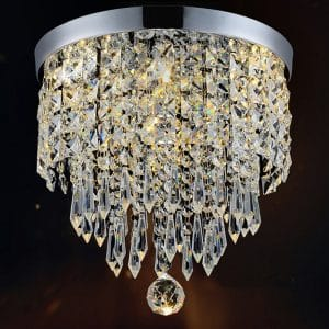 Hile Lighting KU300074 Modern Chandelier Crystal Ball