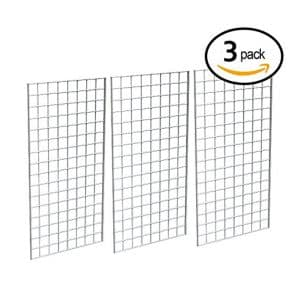Perfect Metal Grid Wall panel for all Retail Displays