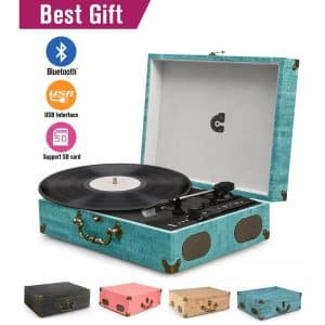 Top 10 Best Suitcase Vinyl Record Player in 2019 | Victrola