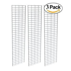 Perfect Metal Econoco Slat Grid Wall panel for all Retail Displays