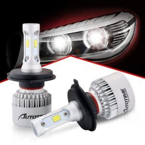 Auto Time LED Headlight Bulb, H4 9003