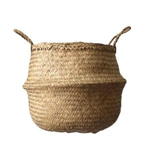 Cocoboo Natural Seagrass Laundry Basket