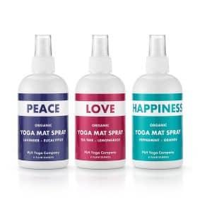PLH yoga organic yoga mat spray