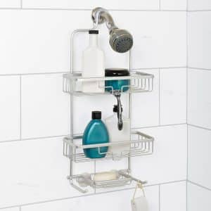 Zenna Home 7402AL Shower Caddy