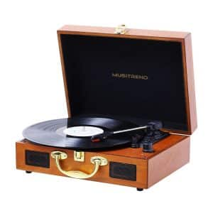 Musitrend Suitcase Turntable