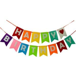 Perfec Happy Birthday Banner